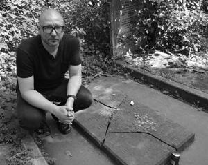 Marx's original grave site at Highgate