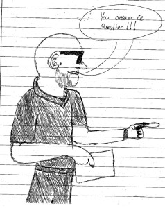 ProfLotz as seen by one of his students